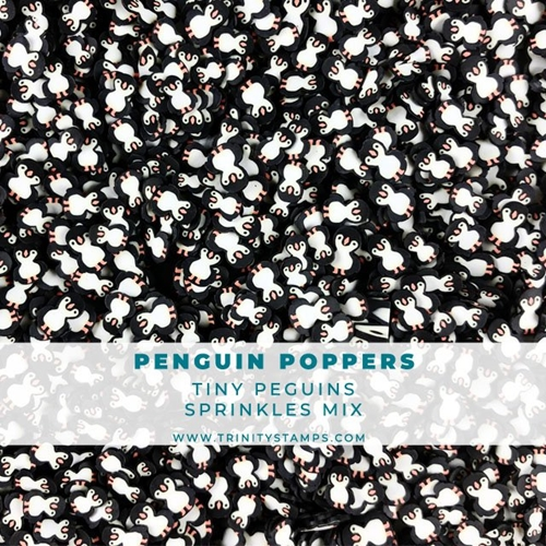 Trinity Stamps PENGUIN POPPERS Embellishment Box 504078 Preview Image