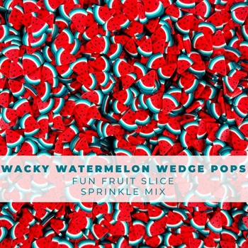 Trinity Stamps WACKY WATERMELON WEDGE POPS Embellishment Box 1543206656