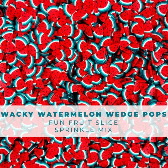 RESERVE Trinity Stamps WACKY WATERMELON WEDGE POPS Embellishment Box 1543206656 zoom image