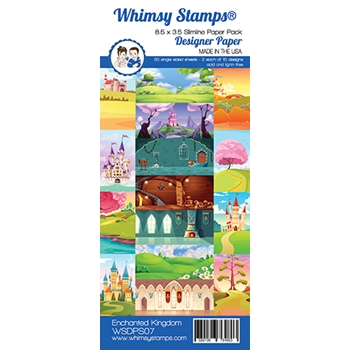Whimsy Stamps MERMAID 6 x 6 Paper Pad WSDP07