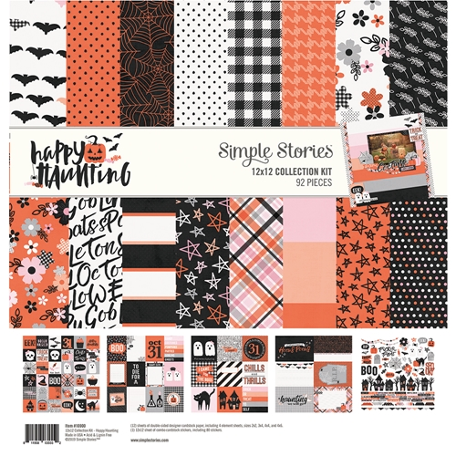 Simple Stories HAPPY HAUNTING 12 x 12 Collection Kit 10900 Preview Image