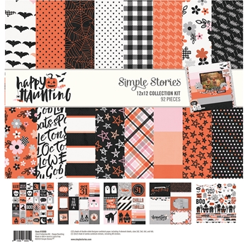 Simple Stories HAPPY HAUNTING 12 x 12 Collection Kit 10900*