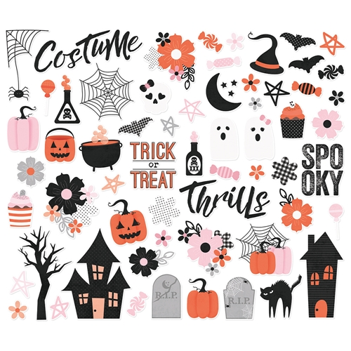 Simple Stories HAPPY HAUNTING Bits And Pieces 10919 Preview Image