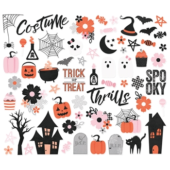 Simple Stories HAPPY HAUNTING Bits And Pieces 10919