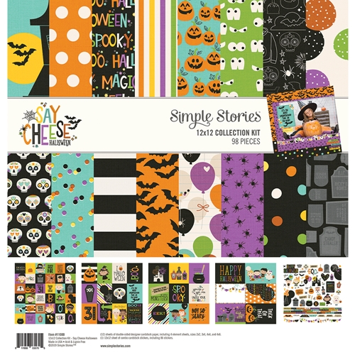 Simple Stories SAY CHEESE HALLOWEEN 12 x 12 Collection Kit 11000 Preview Image