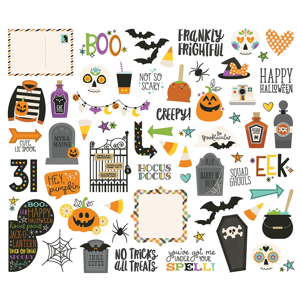 Simple Stories SAY CHEESE HALLOWEEN Bits And Pieces 11019 zoom image