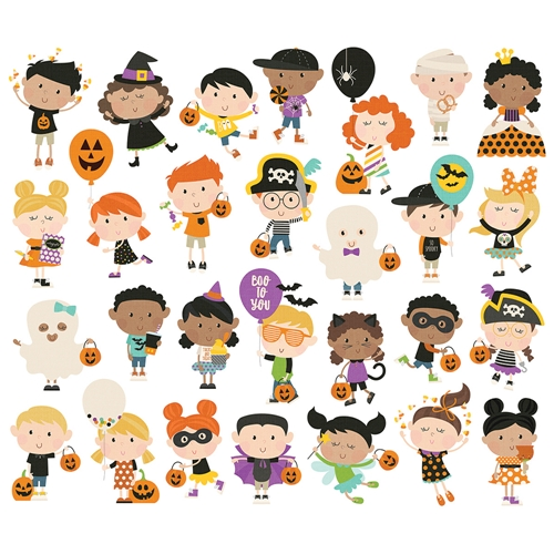 Simple Stories SAY CHEESE HALLOWEEN Happy Kids Bits And Pieces 11020 Preview Image