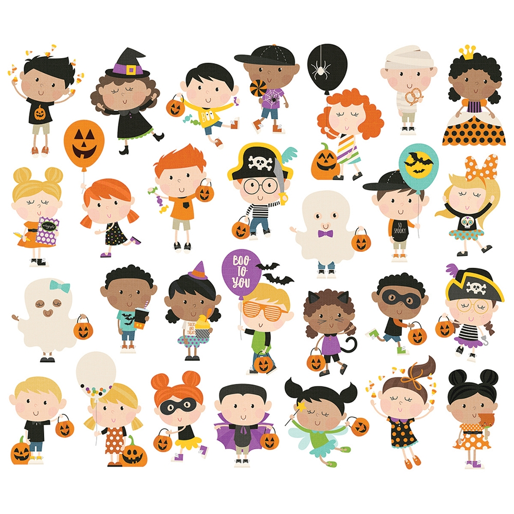 Simple Stories SAY CHEESE HALLOWEEN Happy Kids Bits And Pieces 11020 zoom image