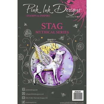 Pink Ink Designs STAG A5 Clear Stamps pi035