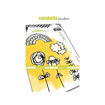 Carabelle Studio CRAYONED ELEMENT Cling Stamps sa60447