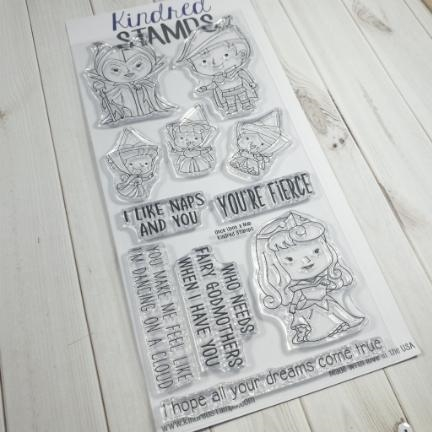 Kindred Stamps ONCE UPON A NAP Clear Stamps 44332774 Preview Image