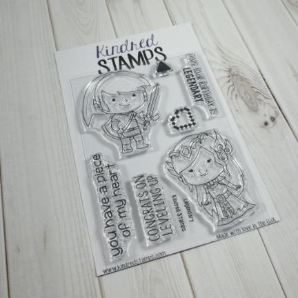 Kindred Stamps LEGENDARY Clear Stamps 44332776 zoom image