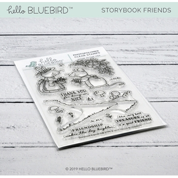 Hello Bluebird STORYBOOK FRIENDS Clear Stamps hb2199