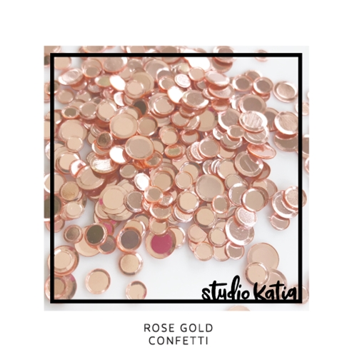 Studio Katia ROSE GOLD Confetti sk2711 Preview Image
