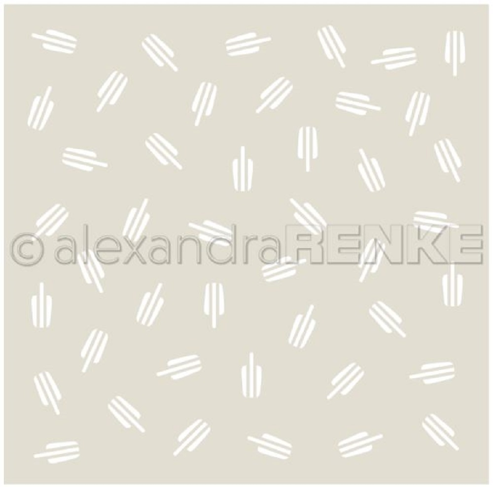 Alexandra Renke ICE ON A STICK Stencil starmu0032 zoom image