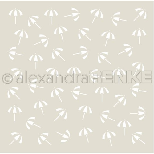 Alexandra Renke LITTLE UMBRELLA Stencil starmu0034 Preview Image