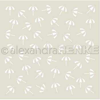 Alexandra Renke LITTLE UMBRELLA Stencil starmu0034