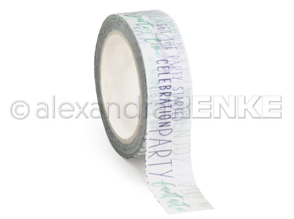 Alexandra Renke BLUE CELEBRATION Washi Tape wtarty0014 zoom image