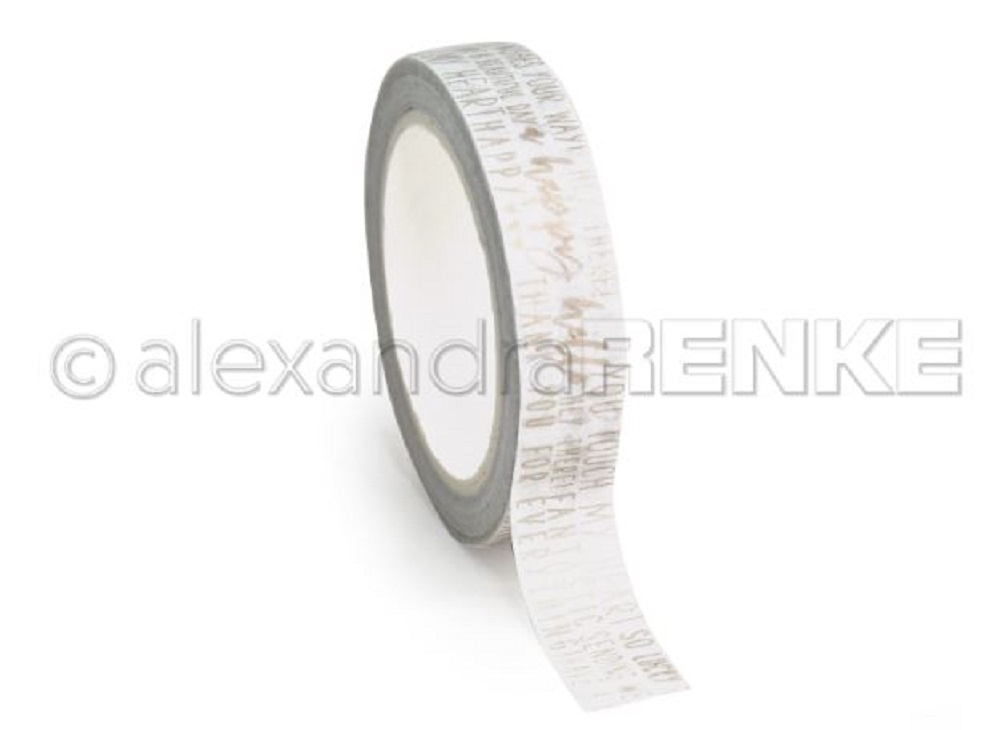 Alexandra Renke HAPPY GOLD Washi Tape wtarty0011 zoom image