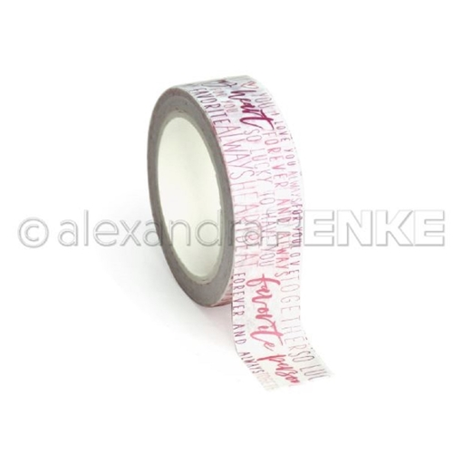 Alexandra Renke MY HEART TYPO Washi Tape wtarty0013 Preview Image
