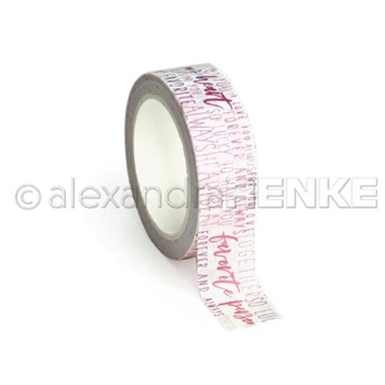 Alexandra Renke MY HEART TYPO Washi Tape wtarty0013