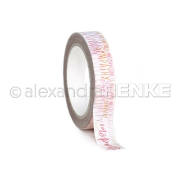 Alexandra Renke ORANGE CREATIVITY Washi Tape wtarty0012