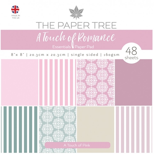 The Paper Tree A TOUCH OF PINK 8x8 Paper Pad ptc1059 Preview Image