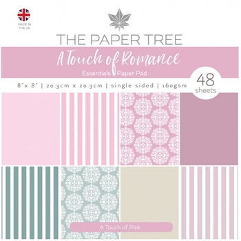 The Paper Tree A TOUCH OF PINK 8x8 Paper Pad ptc1059