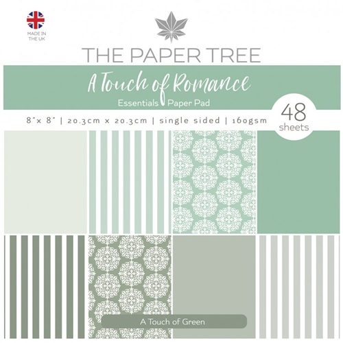 The Paper Tree A TOUCH OF GREEN 8x8 Paper Pad ptc1058 Preview Image
