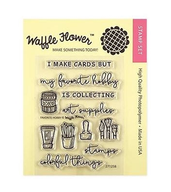 Waffle Flower FAVORITE HOBBY Clear Stamps 271258 Preview Image