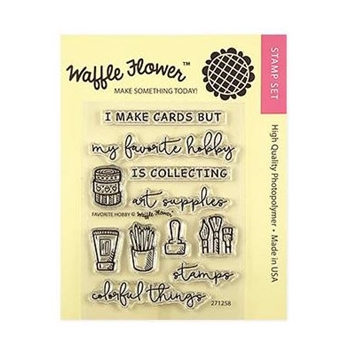Waffle Flower FAVORITE HOBBY Clear Stamps 271258