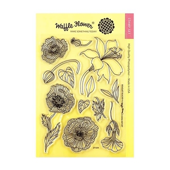 Waffle Flower BOUQUET BUILDER 4 Clear Stamps 271254