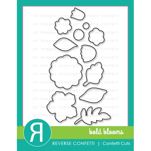 Reverse Confetti Cuts BOLD BLOOMS Dies Preview Image