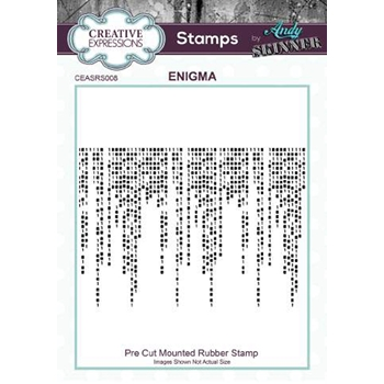 Creative Expressions ENIGMA Andy Skinner Cling Stamp ceasrs008