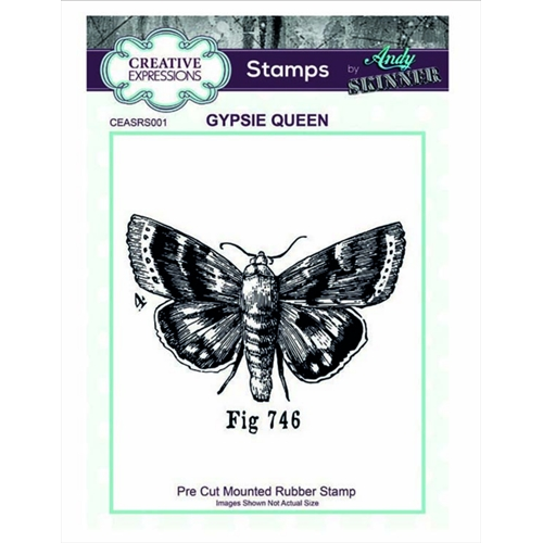 Creative Expressions GYPSIE QUEEN Andy Skinner Cling Stamp ceasrs001 Preview Image