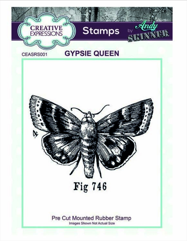 Creative Expressions GYPSIE QUEEN Andy Skinner Cling Stamp ceasrs001 zoom image