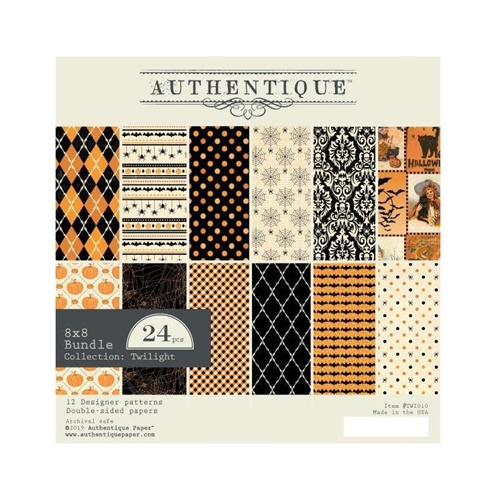Authentique 8 x 8 TWILIGHT Paper Pad twi010 Preview Image