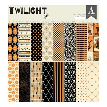 Authentique TWILIGHT 12 x 12 Paper Pad twi012