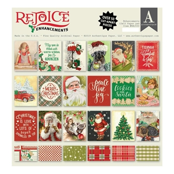 Authentique REJOICE 12 x 12 Paper Pad rej030