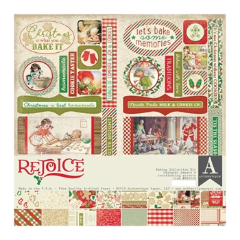 Authentique REJOICE 12 x 12 Collection Kit rej028