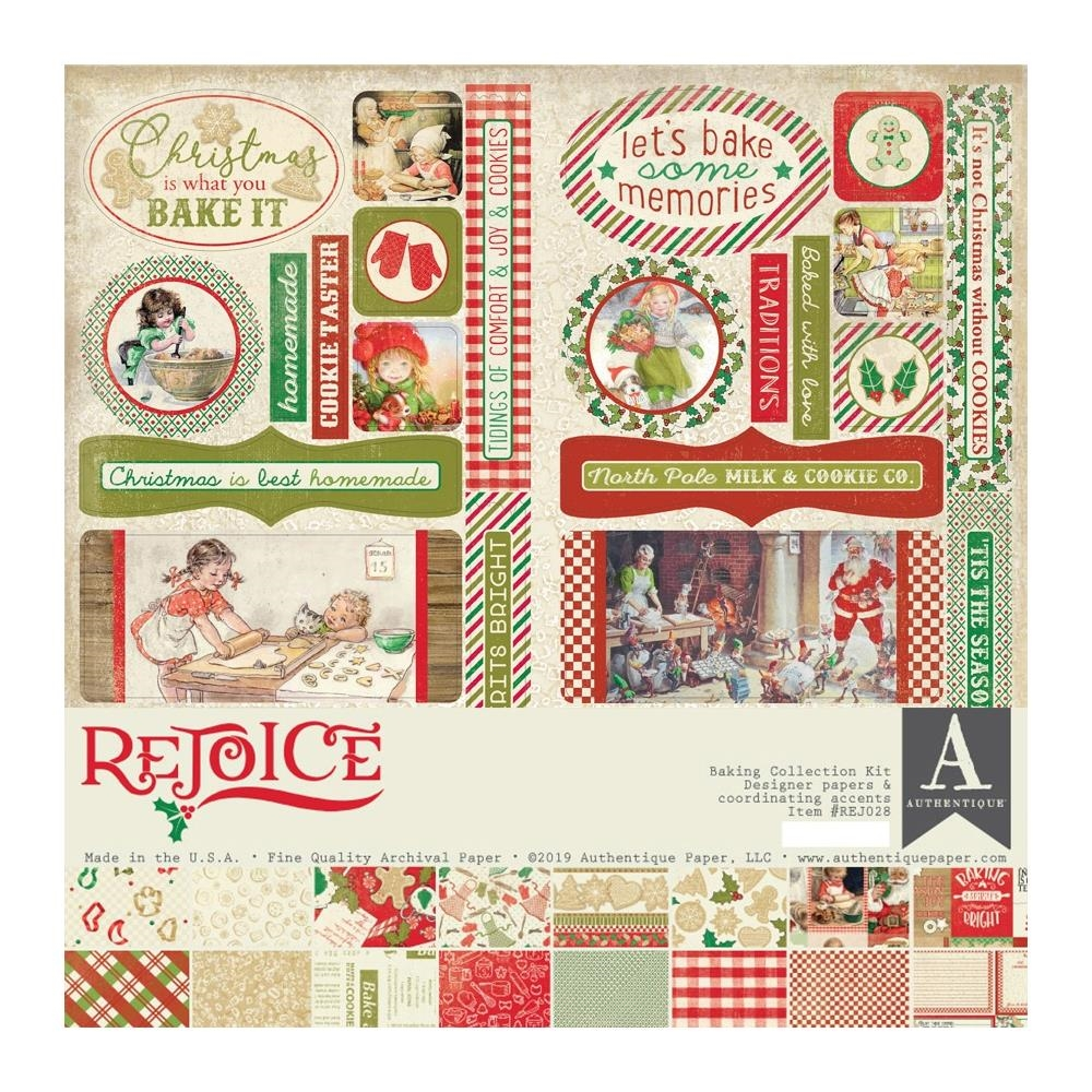 Authentique REJOICE 12 x 12 Collection Kit rej028 zoom image