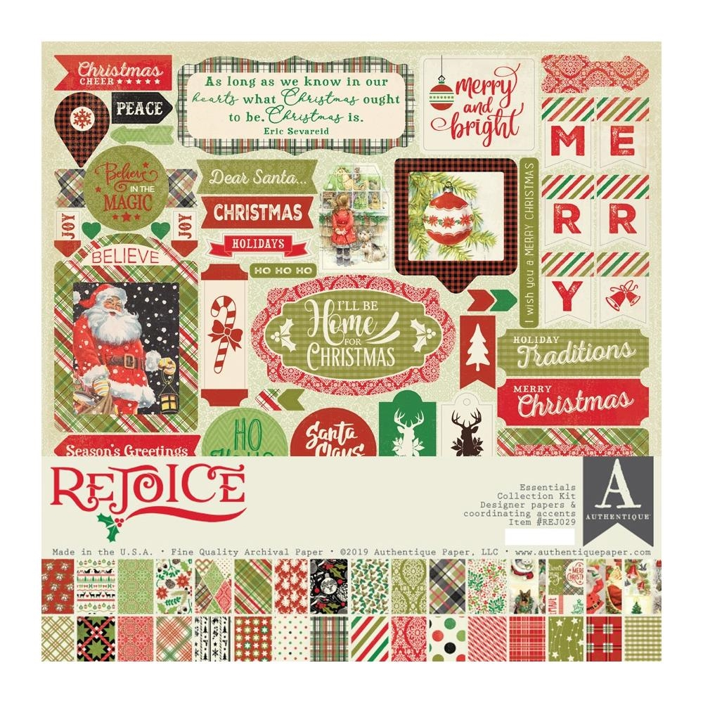 Authentique REJOICE 12 x 12 Collection Kit rej029 zoom image