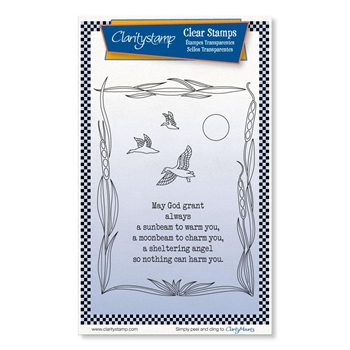 Claritystamp SUNBEAM MOONBEAM Clear Stamps stawo10704a6