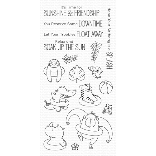 My Favorite Things SUNSHINE AND FRIENDSHIP Clear Stamps BB73 Preview Image