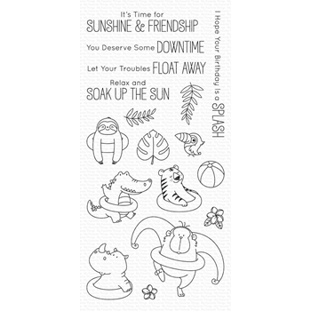 My Favorite Things SUNSHINE AND FRIENDSHIP Clear Stamps BB73