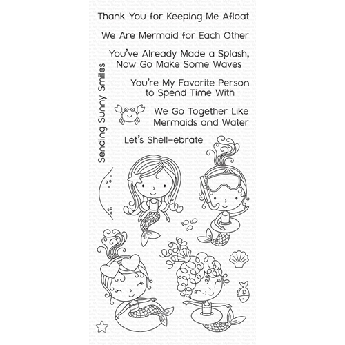 My Favorite Things MERMAID FOR EACH OTHER Clear Stamps CS304 Preview Image