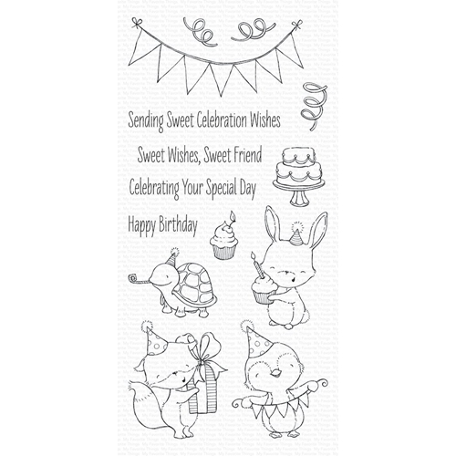 My Favorite Things SENDING SWEET CELEBRATION WISHES Clear Stamps SY11 Preview Image