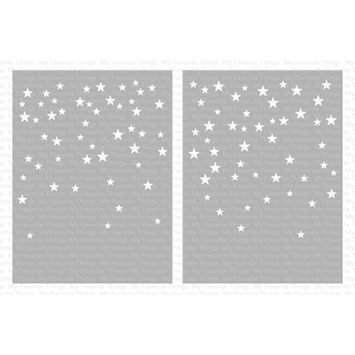 My Favorite Things CARD SIZED STAR CONFETTI Mix-ables Premium Stencils ST120 Preview Image