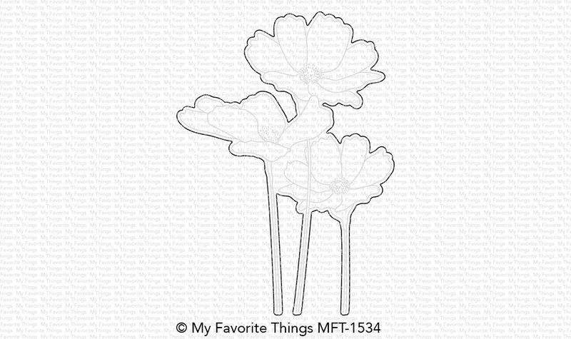My Favorite Things FLOWERS IN BLOOM Die-Namics MFT1534 zoom image