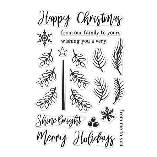 Hero Arts Clear Stamps BUILD A TREE CM376 Preview Image